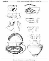 Chronicle of the Archaeological Excavations in Romania, 1999 Campaign. Report no. 142, Şoimeni, Várdomb (Ciomortan, Várdomb)<br /><a href='http://foto.cimec.ro/cronica/1999/142/50.jpg' target=_blank>Display the same picture in a new window</a>