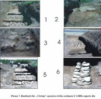Chronicle of the Archaeological Excavations in Romania, 2000 Campaign. Report no. 48, Ciocadia, Codrişoare<br /><a href='http://foto.cimec.ro/cronica/2000/048/plansa7.jpg' target=_blank>Display the same picture in a new window</a>