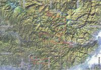 Chronicle of the Archaeological Excavations in Romania, 2000 Campaign. Report no. 174, Roşia Montană, La Hop-Găuri<br /><a href='http://foto.cimec.ro/cronica/2000/174/satelit.jpg' target=_blank>Display the same picture in a new window</a>