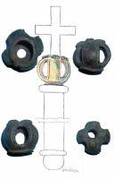 Cronica Cercetărilor Arheologice din România, Campania 2001. Raportul nr. 65.1, Chitila, La fermă (Fermă)<br /><a href='http://foto.cimec.ro/cronica/2001/065-bis/sceptru-cu-patru.jpg' target=_blank>Priveşte aceeaşi imagine într-o fereastră nouă</a>