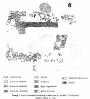 Chronicle of the Archaeological Excavations in Romania, 2001 Campaign. Report no. 66, Ciocadia, Codrişoare<br /><a href='http://foto.cimec.ro/cronica/2001/066/Ciocadia2.jpg' target=_blank>Display the same picture in a new window</a>