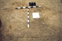Chronicle of the Archaeological Excavations in Romania, 2001 Campaign. Report no. 181, Roşia Montană, Cârnic (Piatra Corbului).<br /> Sector Imagini_detaliu_necropola.<br /><a href='http://foto.cimec.ro/cronica/2001/181/Imagini-detaliu-necropola/004.JPG' target=_blank>Display the same picture in a new window</a>