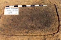 Chronicle of the Archaeological Excavations in Romania, 2001 Campaign. Report no. 181, Roşia Montană, Cârnic (Piatra Corbului).<br /> Sector Imagini_detaliu_necropola.<br /><a href='http://foto.cimec.ro/cronica/2001/181/Imagini-detaliu-necropola/015.JPG' target=_blank>Display the same picture in a new window</a>
