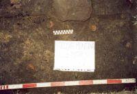 Chronicle of the Archaeological Excavations in Romania, 2001 Campaign. Report no. 181, Roşia Montană, Cârnic (Piatra Corbului).<br /> Sector Imagini_detaliu_necropola.<br /><a href='http://foto.cimec.ro/cronica/2001/181/Imagini-detaliu-necropola/072.JPG' target=_blank>Display the same picture in a new window</a>