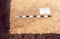 Chronicle of the Archaeological Excavations in Romania, 2001 Campaign. Report no. 181, Roşia Montană, Cârnic (Piatra Corbului).<br /> Sector Imagini_detaliu_necropola.<br /><a href='http://foto.cimec.ro/cronica/2001/181/Imagini-detaliu-necropola/111.JPG' target=_blank>Display the same picture in a new window</a>