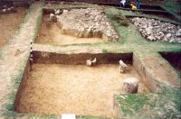 Chronicle of the Archaeological Excavations in Romania, 2001 Campaign. Report no. 182, Roşia Montană, Carpeni (Bisericuţă)<br /><a href='http://foto.cimec.ro/cronica/2001/182/gauri-drum-roman-mnuai-04.jpg' target=_blank>Display the same picture in a new window</a>
