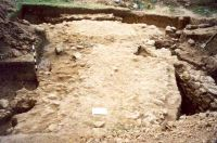 Chronicle of the Archaeological Excavations in Romania, 2001 Campaign. Report no. 182, Roşia Montană, Carpeni (Bisericuţă)<br /><a href='http://foto.cimec.ro/cronica/2001/182/gauri-drum-roman-mnuai-16.jpg' target=_blank>Display the same picture in a new window</a>