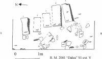 Cronica Cercetărilor Arheologice din România, Campania 2001. Raportul nr. 183, Roşia Montană, Tăul Secuilor (Pârâul Porcului).<br /> Sectorul Planse.<br /><a href='http://foto.cimec.ro/cronica/2001/183/Planse/DALEA107.jpg' target=_blank>Priveşte aceeaşi imagine într-o fereastră nouă</a>