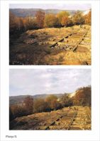 Chronicle of the Archaeological Excavations in Romania, 2001 Campaign. Report no. 186, Roşia Montană, Balmoşeşti - Gura Minei<br /><a href='http://foto.cimec.ro/cronica/2001/186/planse-rosia02.jpg' target=_blank>Display the same picture in a new window</a>