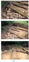 Chronicle of the Archaeological Excavations in Romania, 2001 Campaign. Report no. 188, Roşia Montană, Cârnic (Piatra Corbului).<br /> Sector Piese_inventar_necropola.<br /><a href='http://foto.cimec.ro/cronica/2001/188/hop-botar-mnir-5.jpg' target=_blank>Display the same picture in a new window</a>