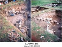 Chronicle of the Archaeological Excavations in Romania, 2002 Campaign. Report no. 42, Capidava, Cetate.<br /> Sector 06-ilustratie sector X.<br /><a href='http://foto.cimec.ro/cronica/2002/042/grupaj1.jpg' target=_blank>Display the same picture in a new window</a>