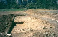 Chronicle of the Archaeological Excavations in Romania, 2002 Campaign. Report no. 45, Casian, Gazoduct<br /><a href='http://foto.cimec.ro/cronica/2002/045/casian2001-locuirenord.jpg' target=_blank>Display the same picture in a new window</a>