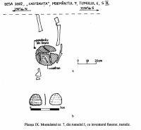 Cronica Cercetărilor Arheologice din România, Campania 2002. Raportul nr. 72, Desa, Castraviţa<br /><a href='http://foto.cimec.ro/cronica/2002/072/09.jpg' target=_blank>Priveşte aceeaşi imagine într-o fereastră nouă</a>