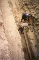 Chronicle of the Archaeological Excavations in Romania, 2002 Campaign. Report no. 101, Isaccea, La Pontonul Vechi (Cetate, Eski-kale)<br /><a href='http://foto.cimec.ro/cronica/2002/101/1-3.jpg' target=_blank>Display the same picture in a new window</a>