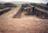 Chronicle of the Archaeological Excavations in Romania, 2002 Campaign. Report no. 101, Isaccea, La Pontonul Vechi (Cetate, Eski-kale)<br /><a href='http://foto.cimec.ro/cronica/2002/101/3-2.jpg' target=_blank>Display the same picture in a new window</a>