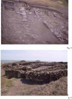 Chronicle of the Archaeological Excavations in Romania, 2002 Campaign. Report no. 108, Jurilovca, Capul Dolojman.<br /> Sector sectorICEM.<br /><a href='http://foto.cimec.ro/cronica/2002/108/Manucu-Adamesteanu03.jpg' target=_blank>Display the same picture in a new window</a>