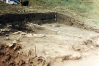 Chronicle of the Archaeological Excavations in Romania, 2002 Campaign. Report no. 138, Ostrov, Piatra Frecăţei (Cetatea romană Beroe)<br /><a href='http://foto.cimec.ro/cronica/2002/138/Ostrov1.jpg' target=_blank>Display the same picture in a new window</a>