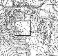 Cronica Cercetărilor Arheologice din România, Campania 2002. Raportul nr. 186, Siret, Dealul Ruina<br /><a href='http://foto.cimec.ro/cronica/2002/186/topo.jpg' target=_blank>Priveşte aceeaşi imagine într-o fereastră nouă</a>