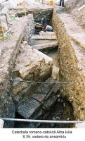 Chronicle of the Archaeological Excavations in Romania, 2003 Campaign. Report no. 12, Alba Iulia, Palatul Episcopal<br /><a href='http://foto.cimec.ro/cronica/2003/012/ab-catedrala-s-35-v-gen.jpg' target=_blank>Display the same picture in a new window</a>