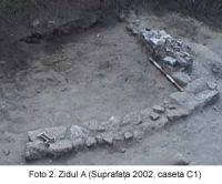 Chronicle of the Archaeological Excavations in Romania, 2003 Campaign. Report no. 58, Corabia, Celei<br /><a href='http://foto.cimec.ro/cronica/2003/058/Corabia-Sucidava-2.jpg' target=_blank>Display the same picture in a new window</a>