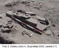 Chronicle of the Archaeological Excavations in Romania, 2003 Campaign. Report no. 58, Corabia, Celei<br /><a href='http://foto.cimec.ro/cronica/2003/058/Corabia-Sucidava-3.jpg' target=_blank>Display the same picture in a new window</a>