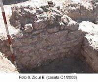 Chronicle of the Archaeological Excavations in Romania, 2003 Campaign. Report no. 58, Corabia, Celei<br /><a href='http://foto.cimec.ro/cronica/2003/058/Corabia-Sucidava-6.jpg' target=_blank>Display the same picture in a new window</a>