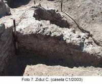 Chronicle of the Archaeological Excavations in Romania, 2003 Campaign. Report no. 58, Corabia, Celei<br /><a href='http://foto.cimec.ro/cronica/2003/058/Corabia-Sucidava-7.jpg' target=_blank>Display the same picture in a new window</a>