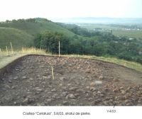 Chronicle of the Archaeological Excavations in Romania, 2003 Campaign. Report no. 61, Costişa, Dealul Cetăţuia<br /><a href='http://foto.cimec.ro/cronica/2003/061/Costisa-Cetatuia-2.jpg' target=_blank>Display the same picture in a new window</a>