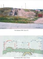 Chronicle of the Archaeological Excavations in Romania, 2003 Campaign. Report no. 91, Isaccea, La Pontonul Vechi (Cetate, Eski-kale)<br /><a href='http://foto.cimec.ro/cronica/2003/091/Isaccea-Noviodunum-planse.jpg' target=_blank>Display the same picture in a new window</a>