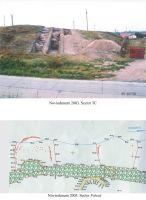 Cronica Cercetărilor Arheologice din România, Campania 2003. Raportul nr. 91, Isaccea, La Pontonul Vechi (Cetate, Eski-kale)<br /><a href='http://foto.cimec.ro/cronica/2003/091/Isaccea-Noviodunum-planse.jpg' target=_blank>Priveşte aceeaşi imagine într-o fereastră nouă</a>