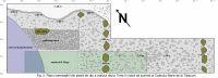Cronica Cercetărilor Arheologice din România, Campania 2003. Raportul nr. 95, Jupa, Cetate (Zidării, Peste Ziduri, Zidină, Zăvoi, La Drum)<br /><a href='http://foto.cimec.ro/cronica/2003/095/Jupa-Zidina-2.jpg' target=_blank>Priveşte aceeaşi imagine într-o fereastră nouă</a>