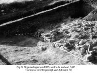 Chronicle of the Archaeological Excavations in Romania, 2003 Campaign. Report no. 97, Jurilovca, Capul Dolojman.<br /> Sector sectorIAB.<br /><a href='http://foto.cimec.ro/cronica/2003/097/sectorIAB/jurilovca-argamum-3-sector-iab.jpg' target=_blank>Display the same picture in a new window</a>