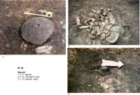 Chronicle of the Archaeological Excavations in Romania, 2003 Campaign. Report no. 122, Covasna, Curmătura (In Cier)<br /><a href='http://foto.cimec.ro/cronica/2003/122/meresti-dambul-pipasilor-pl-3-aspecte.jpg' target=_blank>Display the same picture in a new window</a>