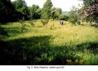 Chronicle of the Archaeological Excavations in Romania, 2003 Campaign. Report no. 161, Roşia Montană, Masivul Ţarina (Ţarina, Kapolna).<br /> Sector MNUAI.<br /><a href='http://foto.cimec.ro/cronica/2003/161/MNUAI/rosia-montana-tarina-3-b-mnuai.jpg' target=_blank>Display the same picture in a new window</a>