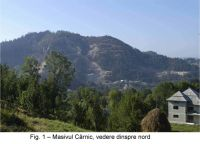 Chronicle of the Archaeological Excavations in Romania, 2003 Campaign. Report no. 164, Roşia Montană, Cârnic (Piatra Corbului)<br /><a href='http://foto.cimec.ro/cronica/2003/164/rosia-montana-carnic-1.jpg' target=_blank>Display the same picture in a new window</a>
