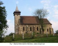 Chronicle of the Archaeological Excavations in Romania, 2003 Campaign. Report no. 172, Sântimbru, Biserica Reformată<br /><a href='http://foto.cimec.ro/cronica/2003/172/santimbru-biserica-reformata-1.JPG' target=_blank>Display the same picture in a new window</a>