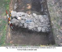 Chronicle of the Archaeological Excavations in Romania, 2003 Campaign. Report no. 172, Sântimbru, Biserica Reformată<br /><a href='http://foto.cimec.ro/cronica/2003/172/santimbru-biserica-reformata-12.JPG' target=_blank>Display the same picture in a new window</a>