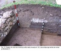 Chronicle of the Archaeological Excavations in Romania, 2003 Campaign. Report no. 172, Sântimbru, Biserica Reformată<br /><a href='http://foto.cimec.ro/cronica/2003/172/santimbru-biserica-reformata-15.JPG' target=_blank>Display the same picture in a new window</a>