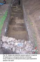 Chronicle of the Archaeological Excavations in Romania, 2003 Campaign. Report no. 172, Sântimbru, Biserica Reformată<br /><a href='http://foto.cimec.ro/cronica/2003/172/santimbru-biserica-reformata-20.JPG' target=_blank>Display the same picture in a new window</a>
