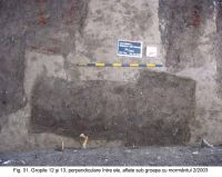 Chronicle of the Archaeological Excavations in Romania, 2003 Campaign. Report no. 172, Sântimbru, Biserica Reformată<br /><a href='http://foto.cimec.ro/cronica/2003/172/santimbru-biserica-reformata-31.JPG' target=_blank>Display the same picture in a new window</a>