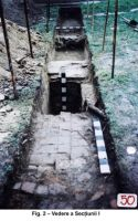 Chronicle of the Archaeological Excavations in Romania, 2003 Campaign. Report no. 186, Surpatele, La mănăstire<br /><a href='http://foto.cimec.ro/cronica/2003/186/Surpatele-02.jpg' target=_blank>Display the same picture in a new window</a>
