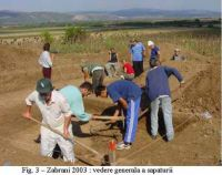 Chronicle of the Archaeological Excavations in Romania, 2003 Campaign. Report no. 215, Zăbrani, Dealul Pietrei (Dealul Viilor, Steinbuckl)<br /><a href='http://foto.cimec.ro/cronica/2003/215/Zabrani-3.jpg' target=_blank>Display the same picture in a new window</a>