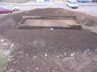 Chronicle of the Archaeological Excavations in Romania, 2004 Campaign. Report no. 28, Alba Iulia, Sediul guvernatorului consular (Mithraeum III)<br /><a href='http://foto.cimec.ro/cronica/2004/028/rsz-6.jpg' target=_blank>Display the same picture in a new window</a>