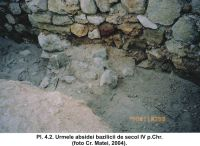 Chronicle of the Archaeological Excavations in Romania, 2004 Campaign. Report no. 61, Capidava, Cetate.<br /> Sector 06-ilustratie sector X.<br /><a href='http://foto.cimec.ro/cronica/2004/061/rsz-4.jpg' target=_blank>Display the same picture in a new window</a>