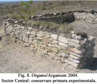 Chronicle of the Archaeological Excavations in Romania, 2004 Campaign. Report no. 129, Jurilovca, Capul Dolojman.<br /> Sector 02-poze-sector central.<br /><a href='http://foto.cimec.ro/cronica/2004/129/rsz-12.jpg' target=_blank>Display the same picture in a new window</a>