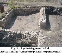 Chronicle of the Archaeological Excavations in Romania, 2004 Campaign. Report no. 129, Jurilovca, Capul Dolojman.<br /> Sector 02-poze-sector central.<br /><a href='http://foto.cimec.ro/cronica/2004/129/rsz-13.jpg' target=_blank>Display the same picture in a new window</a>