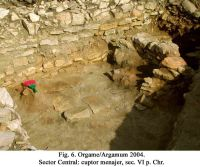 Chronicle of the Archaeological Excavations in Romania, 2004 Campaign. Report no. 129, Jurilovca, Capul Dolojman.<br /> Sector 02-poze-sector central.<br /><a href='http://foto.cimec.ro/cronica/2004/129/rsz-6.jpg' target=_blank>Display the same picture in a new window</a>