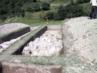 Chronicle of the Archaeological Excavations in Romania, 2004 Campaign. Report no. 189, Roşia Montană, Tăul Secuilor (Pârâul Porcului)<br /><a href='http://foto.cimec.ro/cronica/2004/189/rsz-15.jpg' target=_blank>Display the same picture in a new window</a>