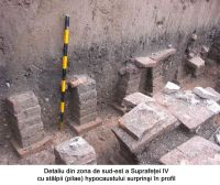 Chronicle of the Archaeological Excavations in Romania, 2005 Campaign. Report no. 20, Alba Iulia, Sediul guvernatorului consular (Mithraeum III)<br /><a href='http://foto.cimec.ro/cronica/2005/020/rsz-1.jpg' target=_blank>Display the same picture in a new window</a>