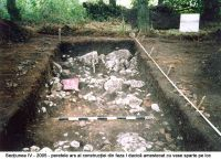 Chronicle of the Archaeological Excavations in Romania, 2005 Campaign. Report no. 29, Augustin, Tipia Ormenişului (Ţepelul Ormenişului)<br /><a href='http://foto.cimec.ro/cronica/2005/029/rsz-10.jpg' target=_blank>Display the same picture in a new window</a>